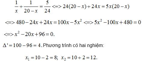 Giải bài toán bằng cách lập phương trình – Bồi dưỡng Đại số 9