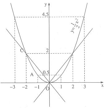 Hàm số y = ax^2 – Bồi dưỡng Đại số 9